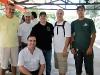 PU2TVI - Ayres, PY2STK - Neto, PY2RJ - João Eoberto, PY2JF - João Roberto e PU2TWG - Glaucio
