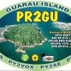 Ativação da Guaraú Island PR2GU